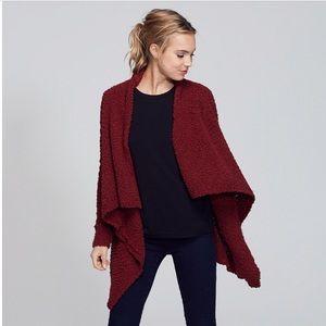 🍂Adam Levine🍁Wine Popcorn Cardigan Sweater NWT
